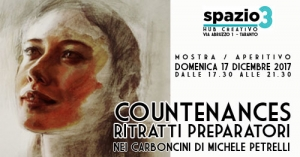 COUNTENANCES. Ritratti preparatori - 17.12.2017